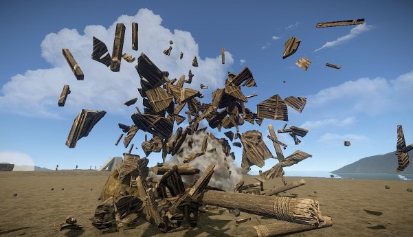 Rust without motion blur