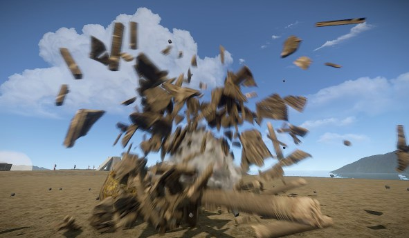Rust with motion blur
