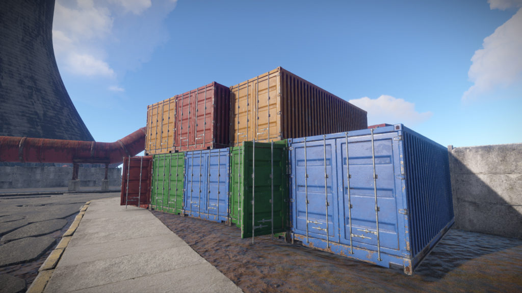 Rust containers