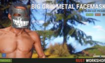 Rust metal mask